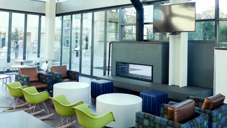 Living Spaces San Marcos : CSU San Marcos University Student Union Interior Design