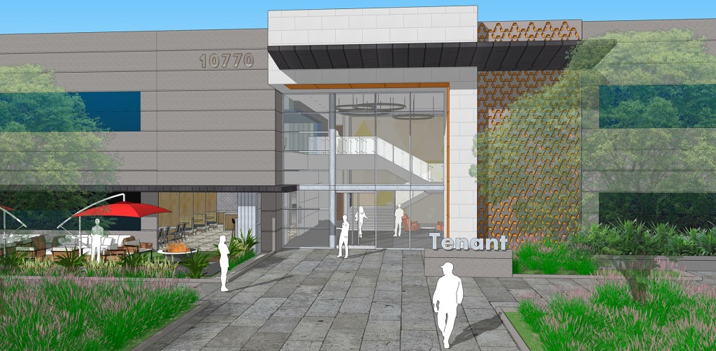 ID Studios design for The Peak on Wateridge Lobby Cafe Exterior Entry