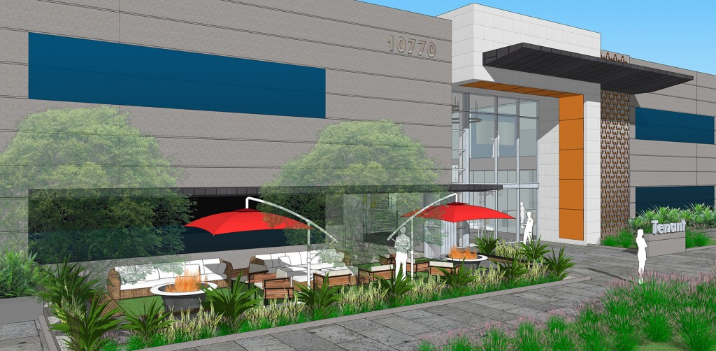 ID Studios design for The Peak on Wateridge Lobby Cafe