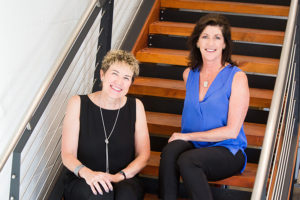 Deborah Elliott and Amy Morway, founders of ID Studios