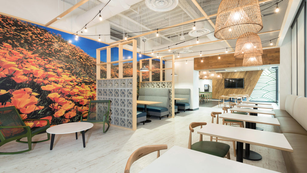 Marsh and McClennan San Diego, Design by ID Studios, Photo by Joel Zwink