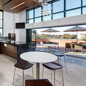 JLL San Diego, Design by ID Studios, Photo by Jared Nelson