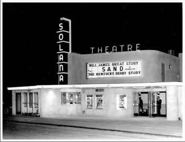Brixton - Solana Beach Civic & Historical Society Solana Theater