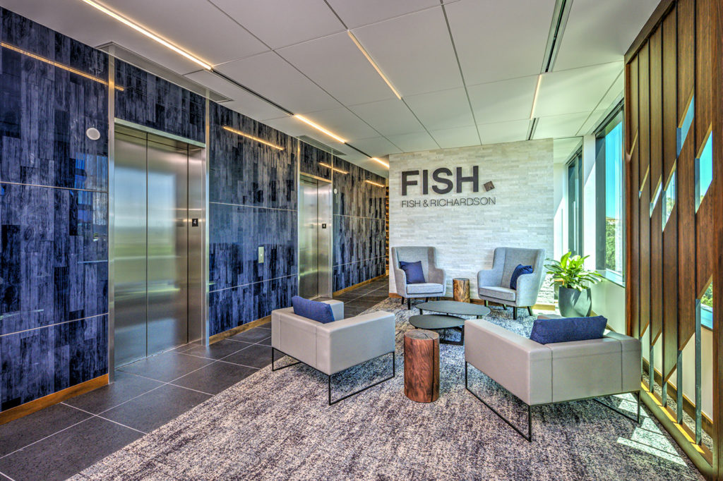 Fish & Richardson design by ID Studios, photo by Pink Media