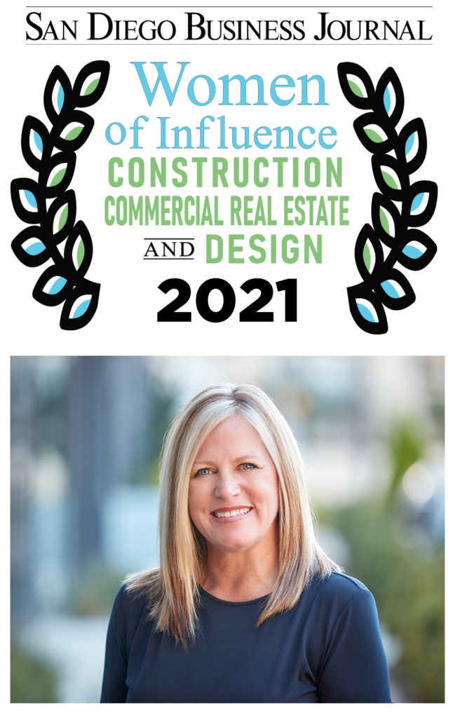 Jill Russell-Layman: Women of Influence in Construction Commercial Real Estate and Design 2021 San Diego Business Journal