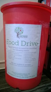 ID Studios participates in San Diego Food Bank food drive