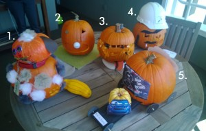 ID Studios Pumpkin Carving Contest 2013